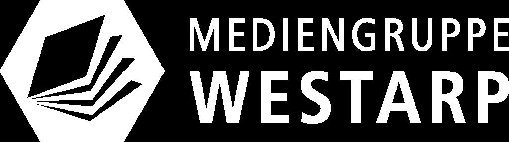 Logo Mediengruppe Westarp (weiß)