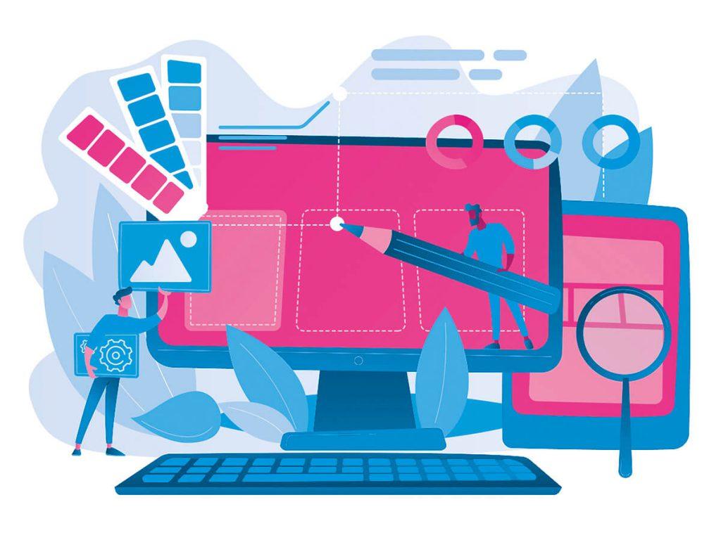 Druckerei Kühne, Kategorie Grafik & Service: Illustration
