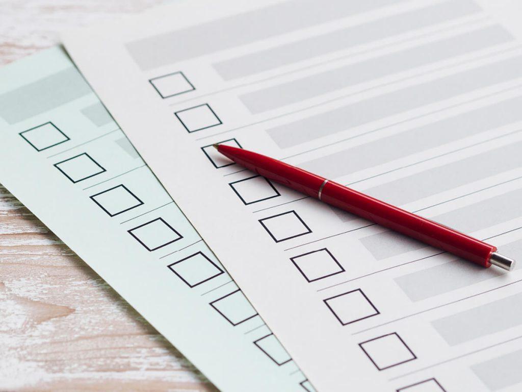 Druckerei Kühne, Kategorie Drucksachen: Wahlunterlagen